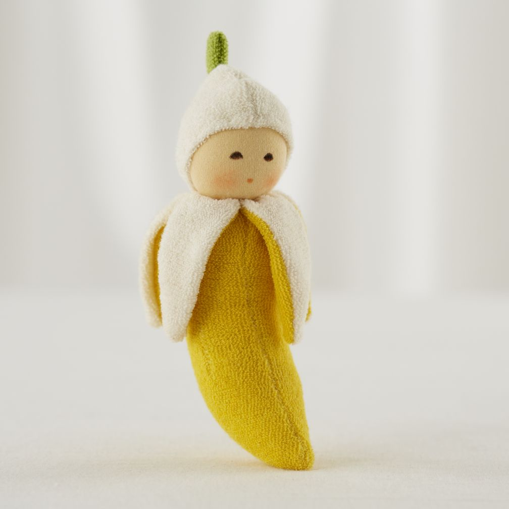 Yellow Bannana Baby Rattle