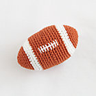 Brown Football All-Star Rattle