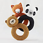Animal Knit Rattles Set of 3A Savings of $9.85