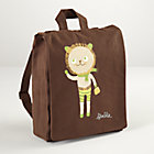 Lion Canvas Backpack