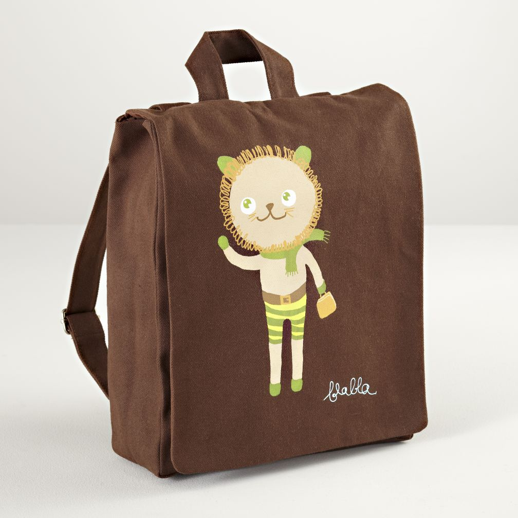 Blabla Charles Canvas Backpack (Lion)