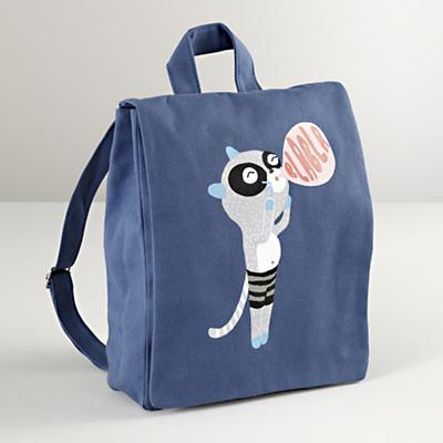 Blabla® Racoon Canvas Backpack