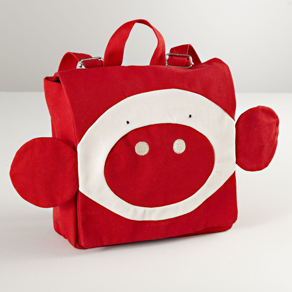 Pieke Red Backpack