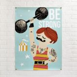 Be Strong Banner