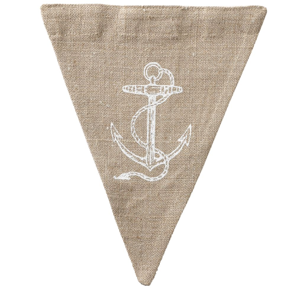 Anchor Achievement Banner Flag