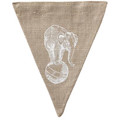 Elephant Achievement Banner Flag