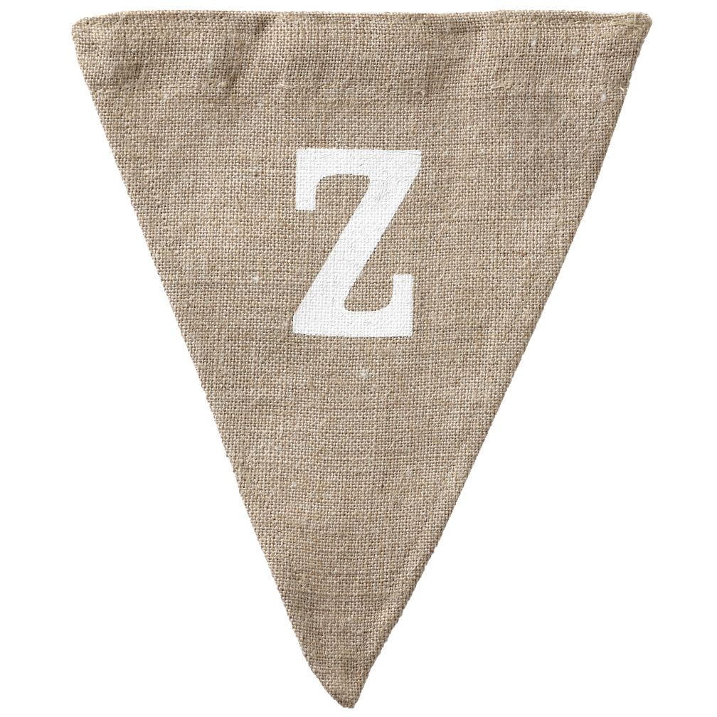 Z Achievement Banner Flag