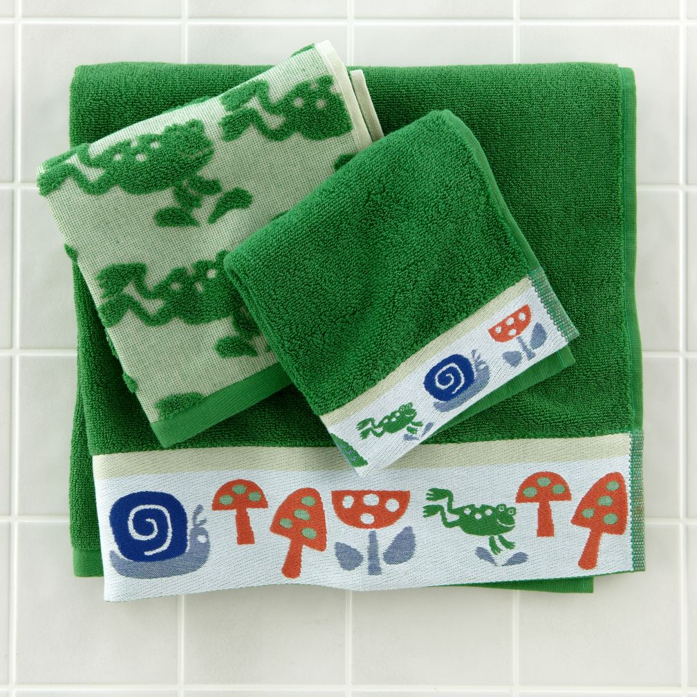 Froggy Bath Towel Collection