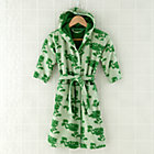 2-4 Yrs Green Froggy Bath Robe