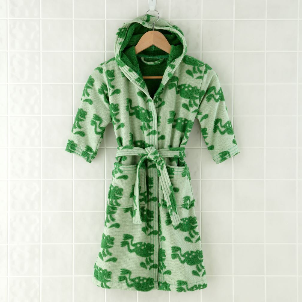 Froggy Bath Robe (6-8 yrs)
