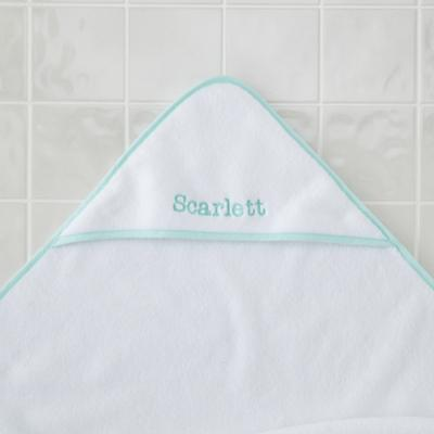 PersonalizedFresh Start Hooded Towel (Mint)