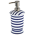 Maritime Blue Stripe Lotion Pump