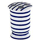 Maritime Blue Stripe Toothbrush Holder