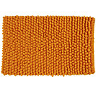Orange Bubble Bath Mat
