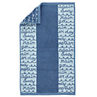 Blue Rain Hand Towel
