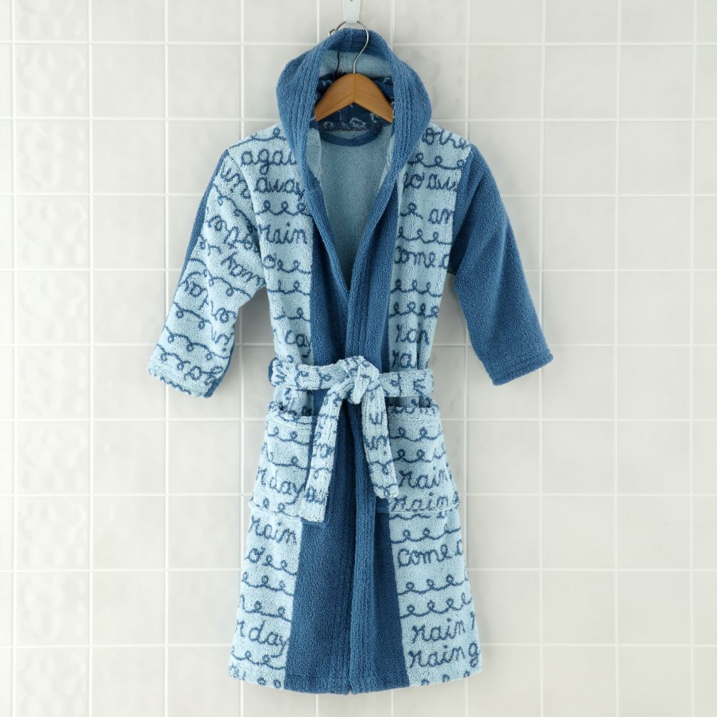 Rain, Rain Go Away Bath Robe