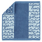 Blue Rain Wash Cloth