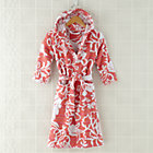 2-4 Yrs PInk Raised Floral Bath Robe