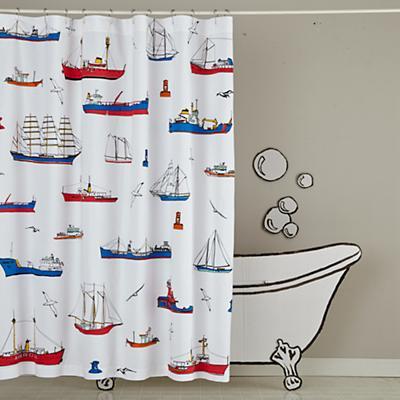 Maritime Shower Curtain