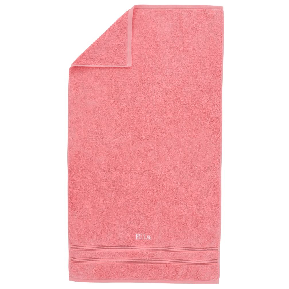 Personalized Fresh Start Bath Towel (Pink)