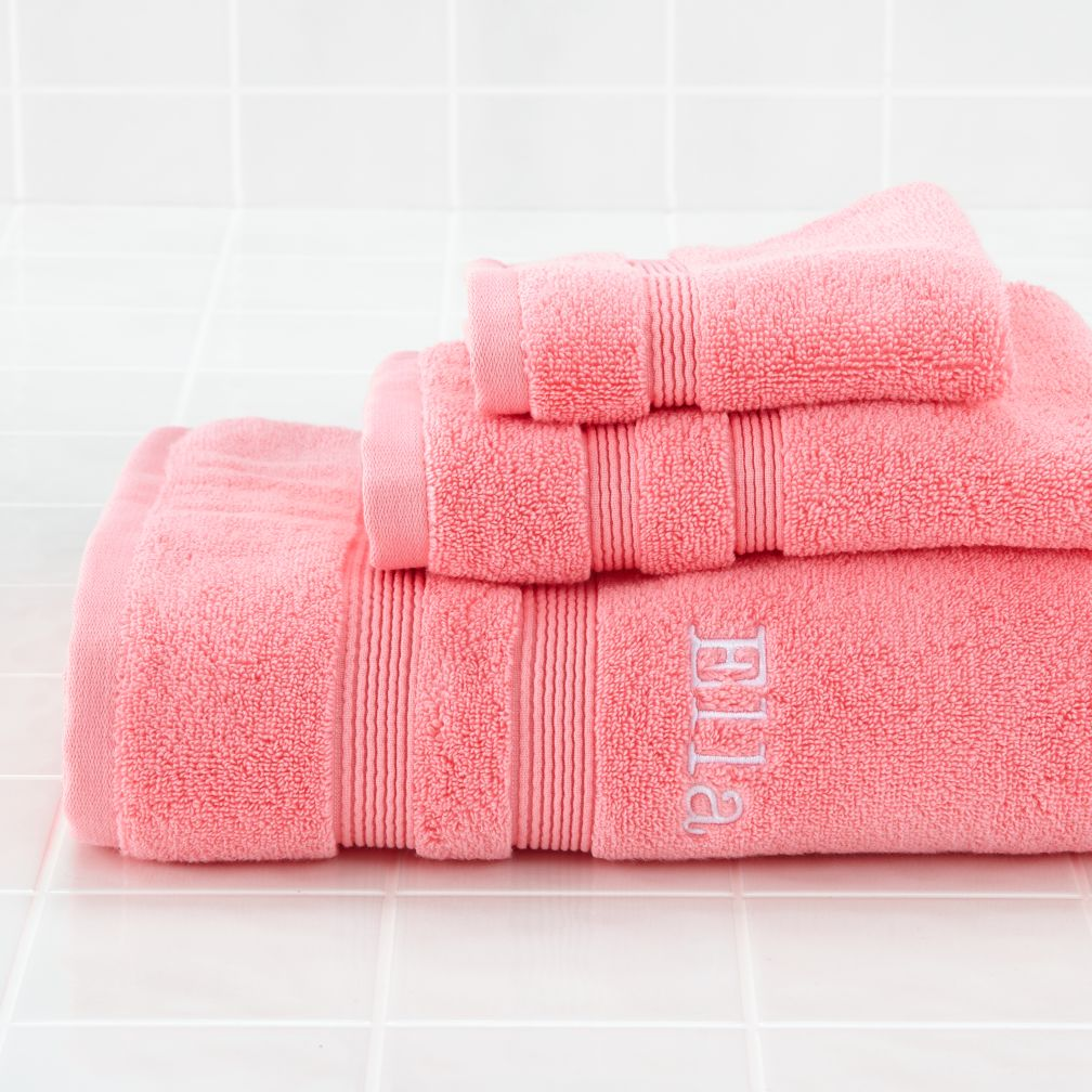 Fresh Start Bath Towels (Pink)