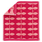 Pink Wildflower Washcloth