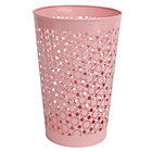 Pink Wildflower Waste Bin