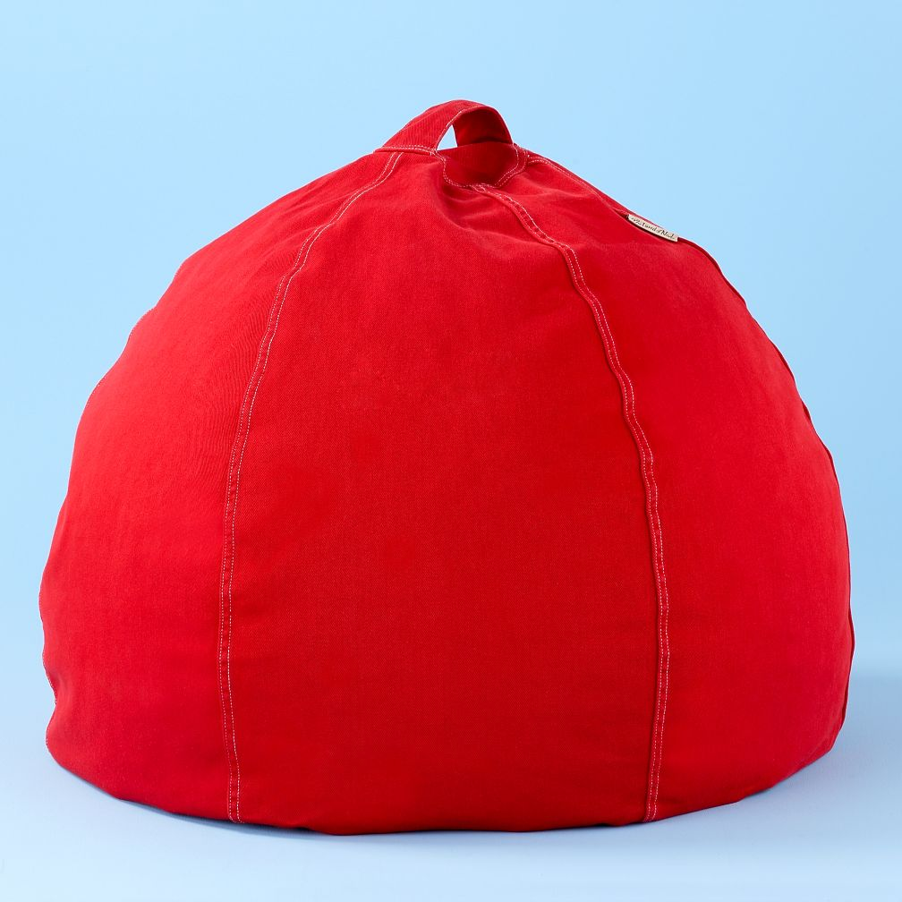 30&quot; Red Beanbag Cover
