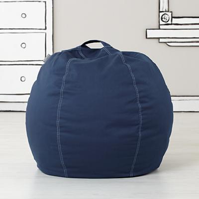 """30"""" Bean Bag Cover (Dk. Blue)"""