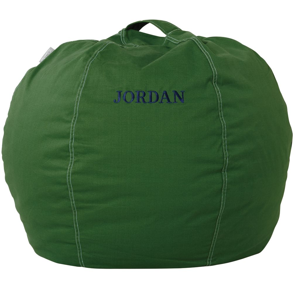 "30"" Personalized Bean Bag Cover (New Green)"