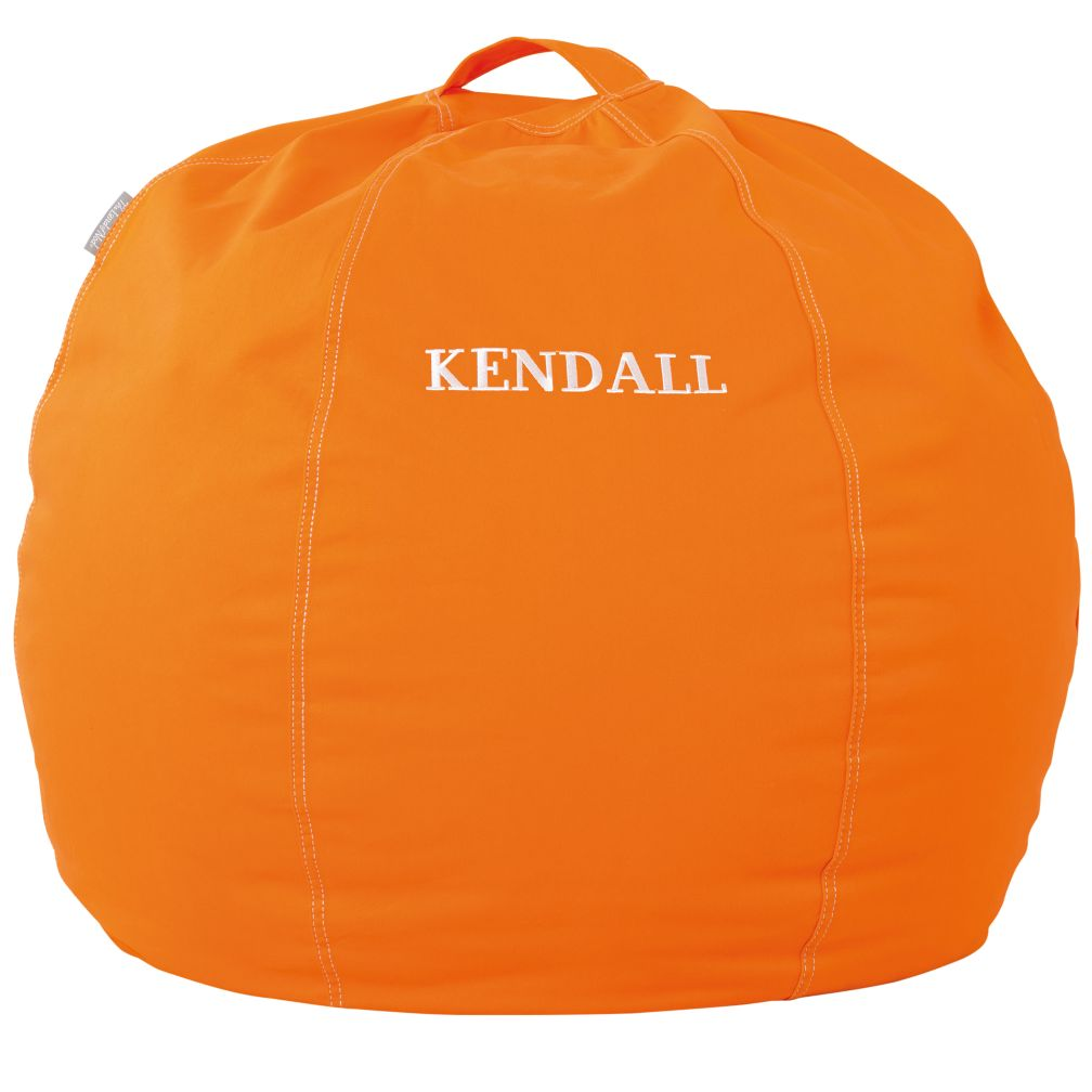 "30"" Personalized Bean Bag (Orange)"