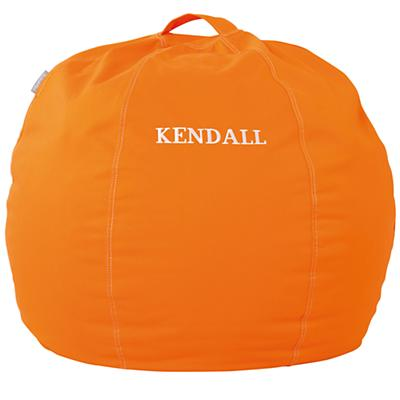 "30"" Personalized Bean Bag Cover (Orange)"