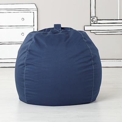 """40"""" Bean Bag Cover (Dk. Blue)"""