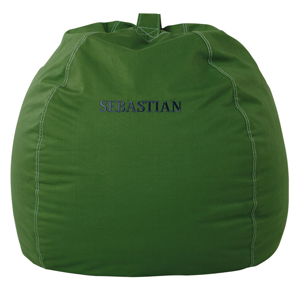 "40"" Personalized Bean Bag Cover (Green)"