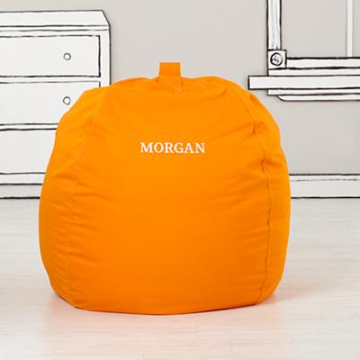 "40"" Ginormous Bean Bag (Orange)"