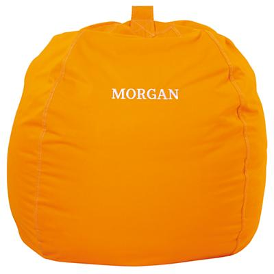 "40"" Personalized Bean Bag Cover (Orange)"