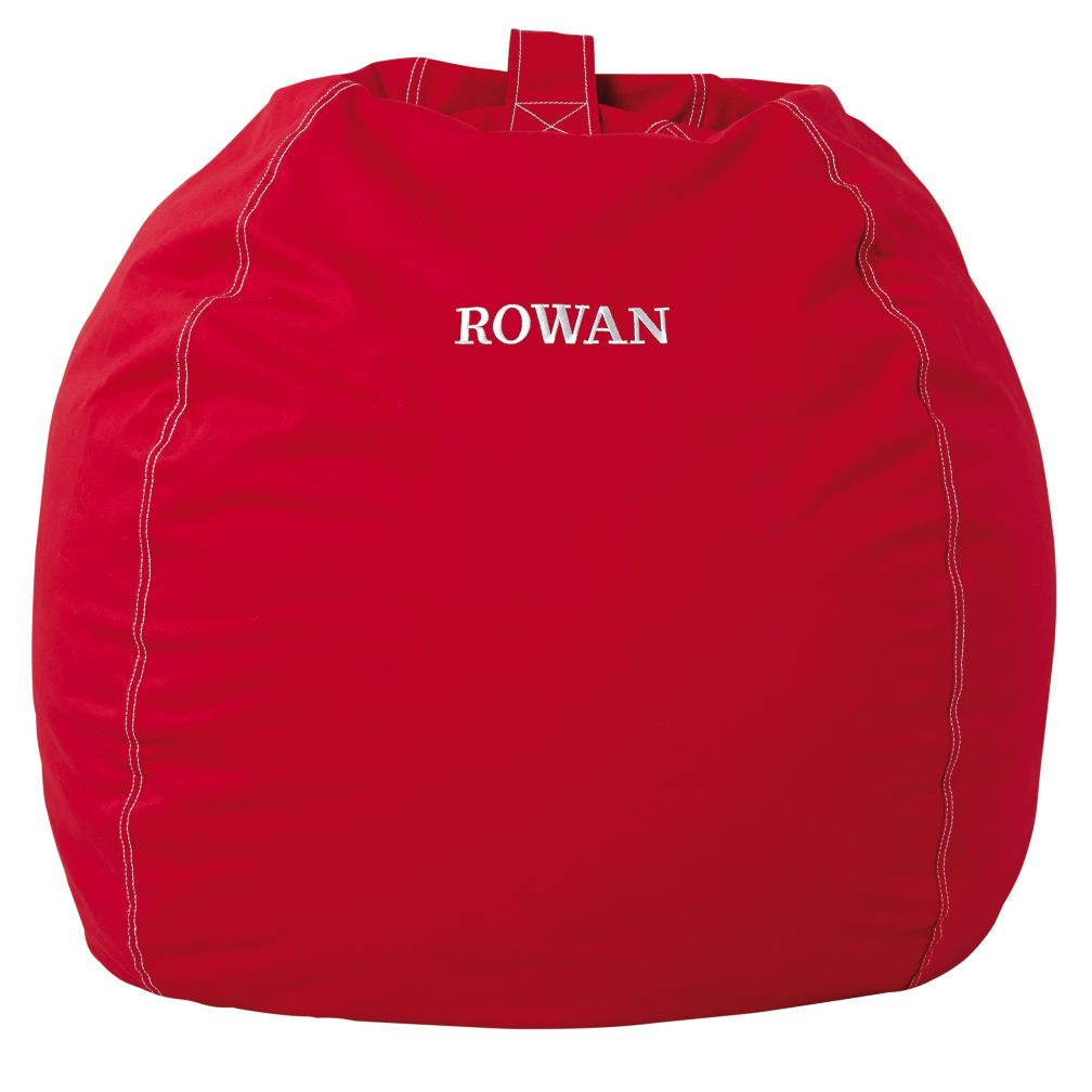 "40"" Personalized Bean Bag Cover (New Red)"