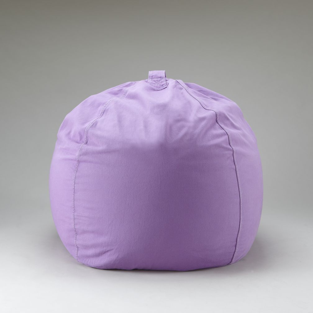 40&quot; Lavender Ginormous Beanbag Cover