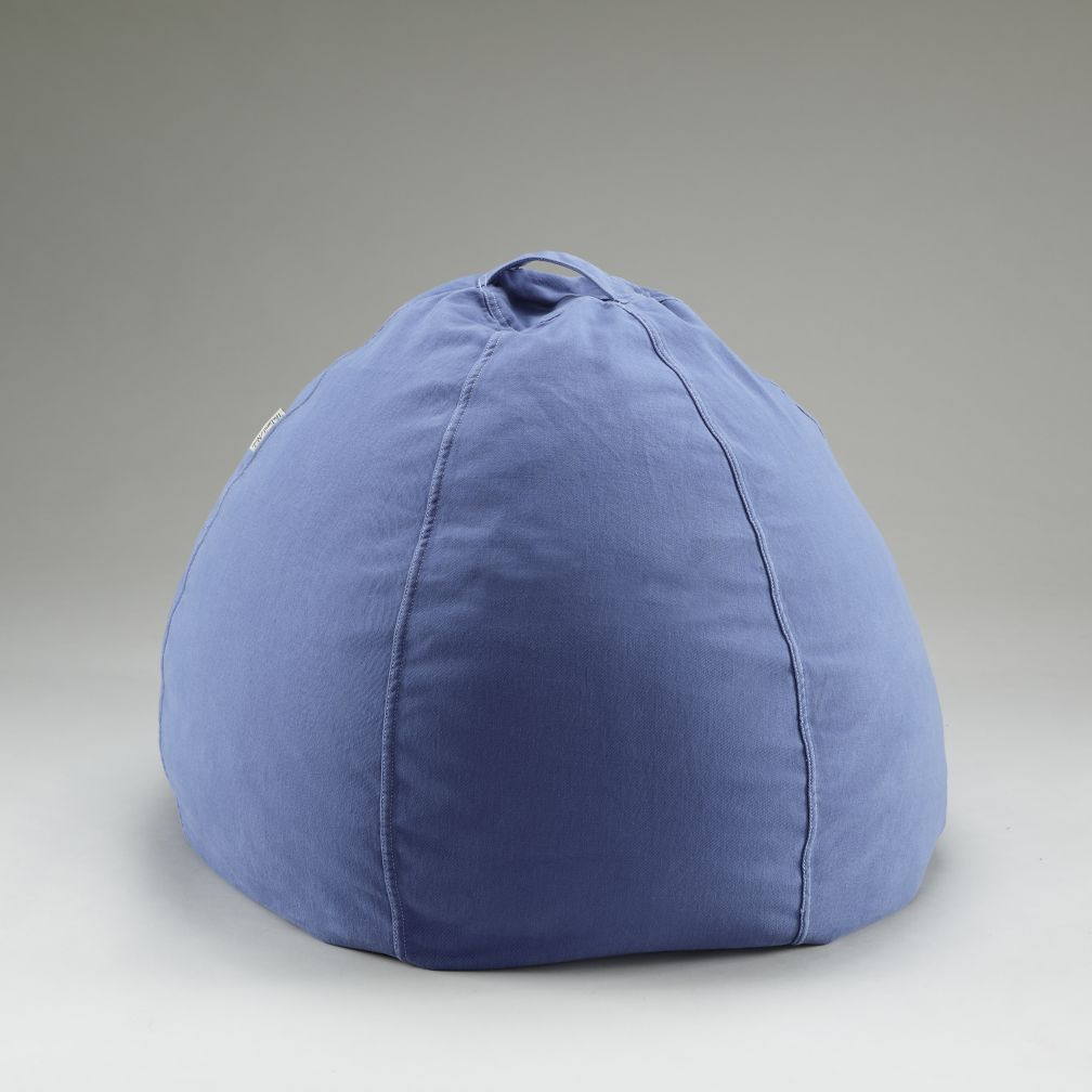 30&quot; Blue Beanbag Cover