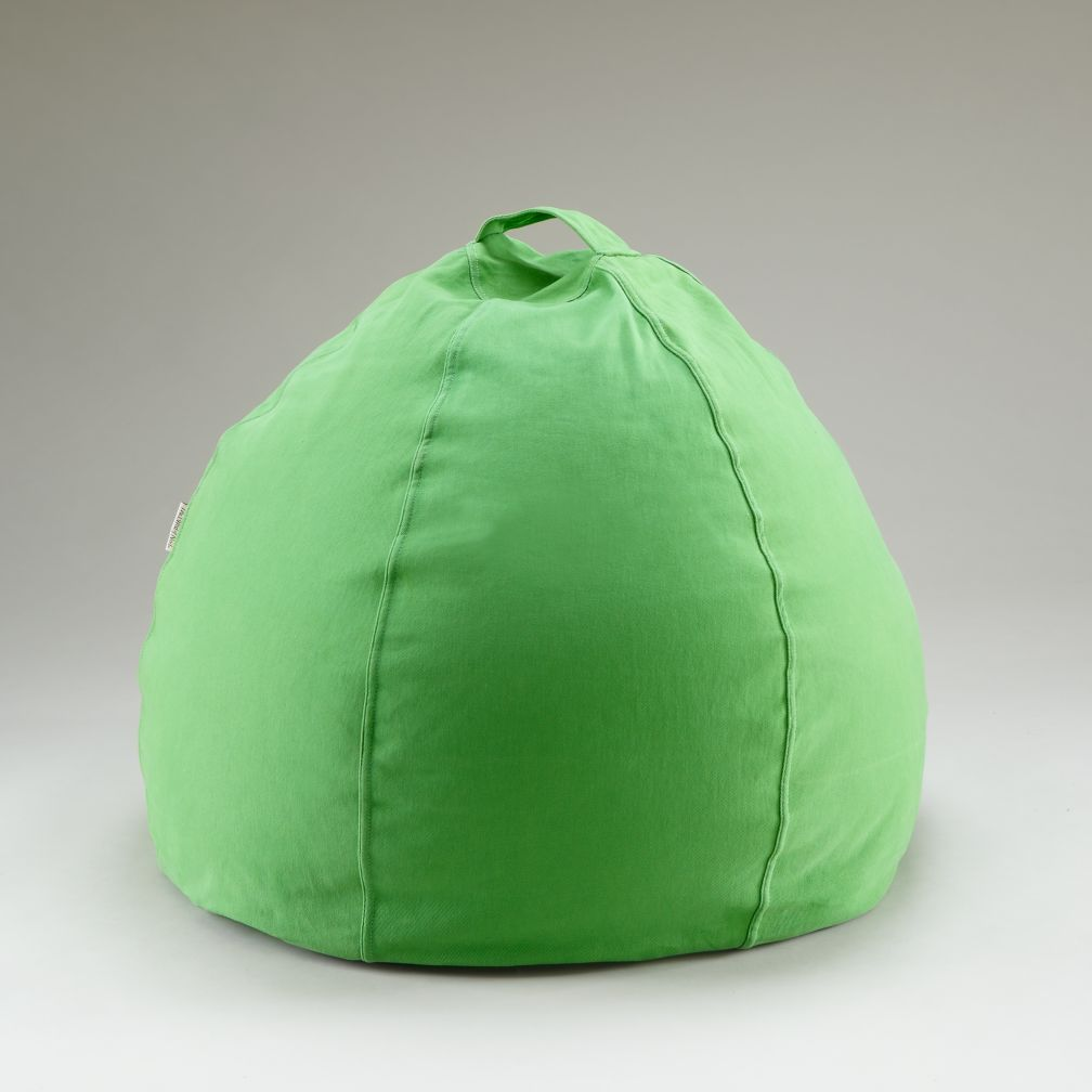 30&quot; Green Beanbag Cover