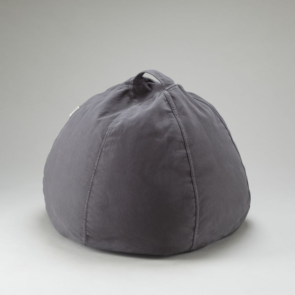 Grey Beanbag Cover