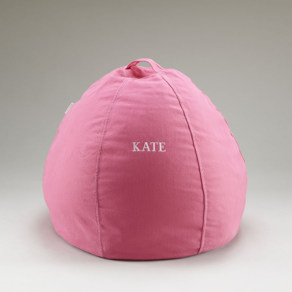 Pink Personalized Beanbag Cover
