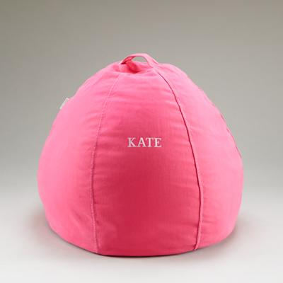 "30"" Personalized Bean Bag (Pink)"