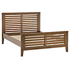 Full Cocoa Bayside Slatted Bed