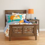 Bayside Slatted Bed (Cocoa)