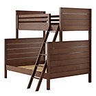 Brown Uptown Twin-Over-Full Bunk Bed