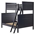 Midnight Blue Uptown Twin-Over-Full Bunk Bed