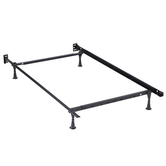 Twin full metal bed frame the land of nod Full bed frames