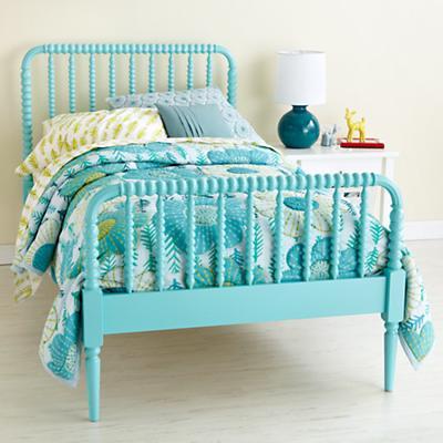 Full Jenny Lind Bed (Azure)
