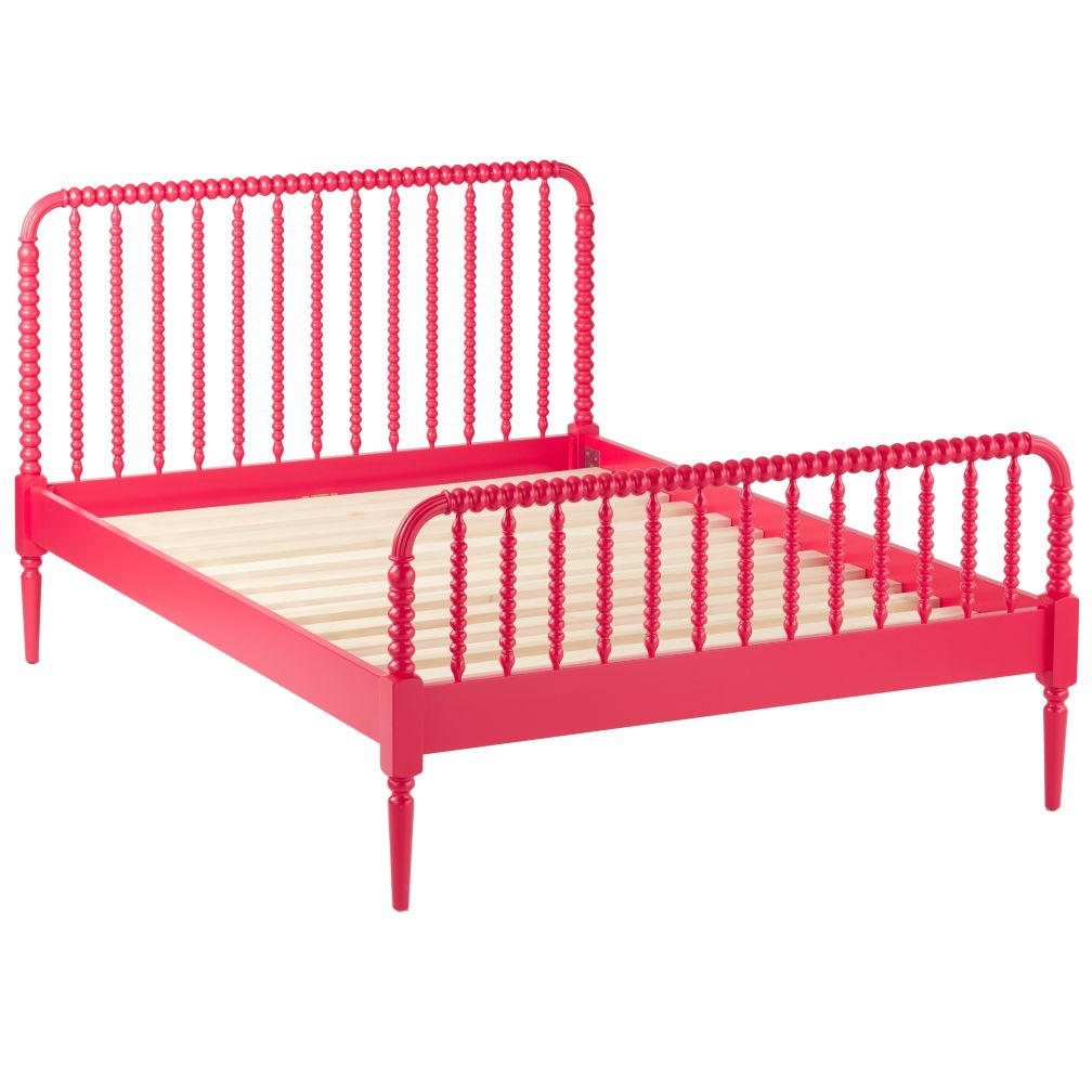 Jenny Queen Lind Bed (Raspberry)